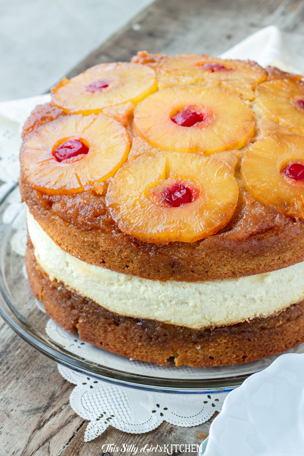 Pineapple Upside Down Cheesecake Cake Recipe Best Crafts And Recipes