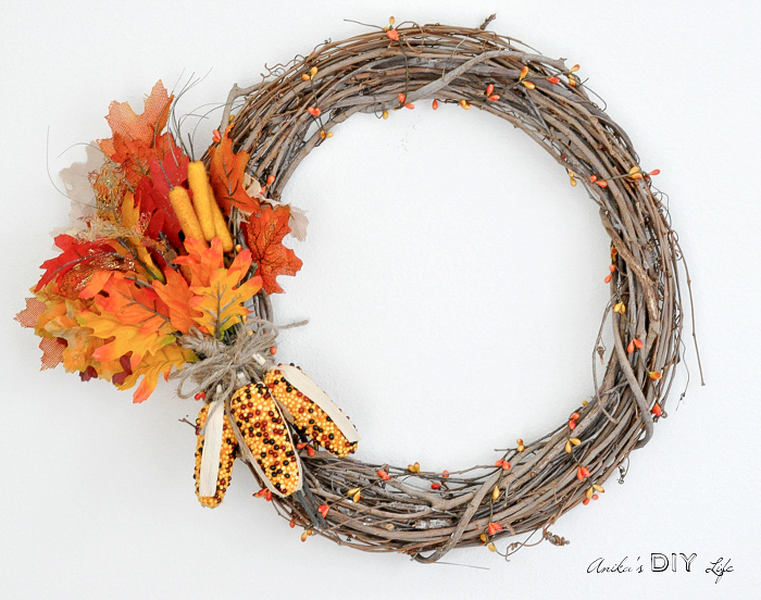 How To Make An Easy Diy Fall Wreath Best Crafts And Recipes