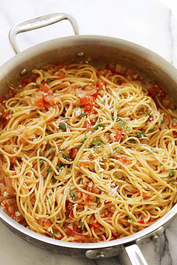 One-Pan Pasta Recipe - Best Crafts And Recipes-3855
