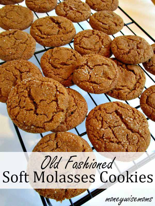 Old Fashioned Soft Molasses Cookies Recipe Best Crafts And Recipes