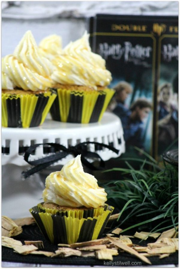 Harry Potter Butterbeer Cupcakes Best Crafts And Recipes