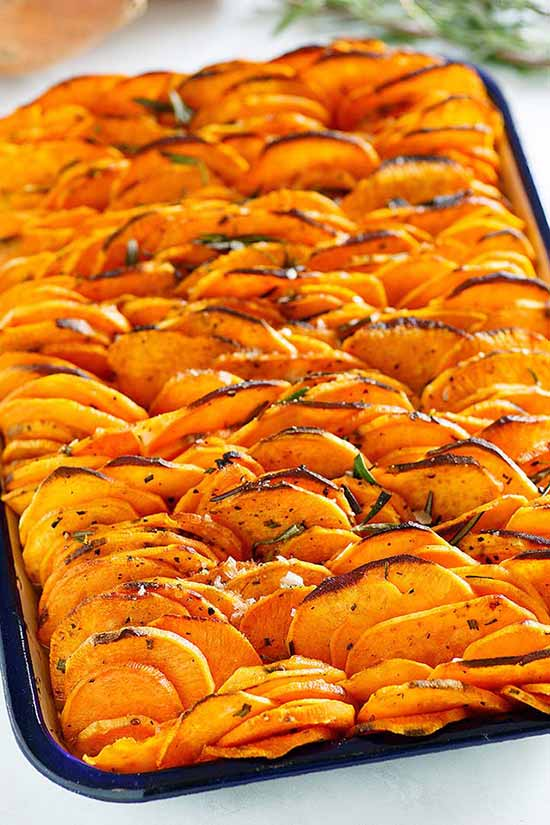 Crispy Baked Sweet Potatoes Recipe Best Crafts And Recipes