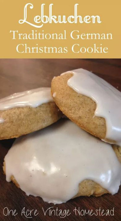 Lebkuchen A German Gingerbread Cookie Recipe Best Crafts And Recipes