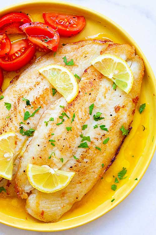 Lemon Pan Fried Fish Recipe Best Crafts And Recipes