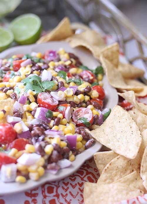 Creamy Lime Black Bean & Corn Salsa Recipe - Best Crafts and Recipes